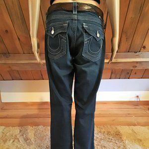 True Religion Becky Dark Wash Jeans